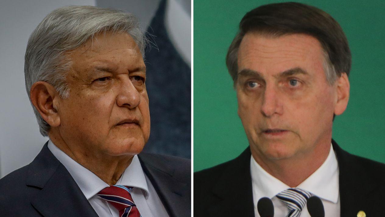 AMLO y Bolsonaro, en un duelo por los inversionistas * GSF ...